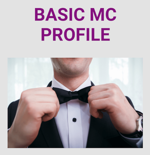 MC DIRECTORY Profile Basic Join Us