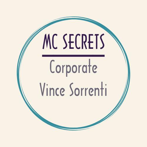 video MC SECRETS Vince Sorrenti corporate video mcsecrets vincesorrenti
