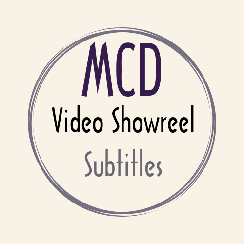 video showreel sub-titles video subtitles showreel