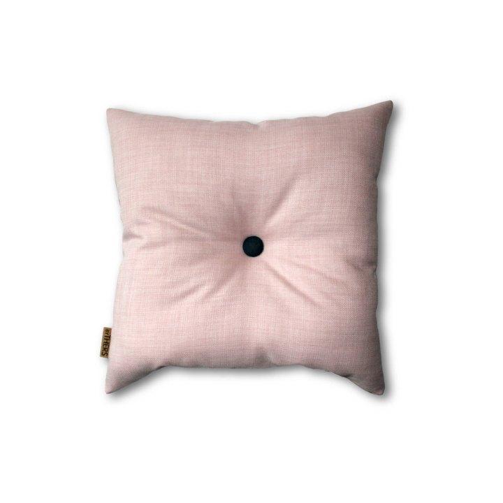 Sart rosa mini-pude med knap 1602