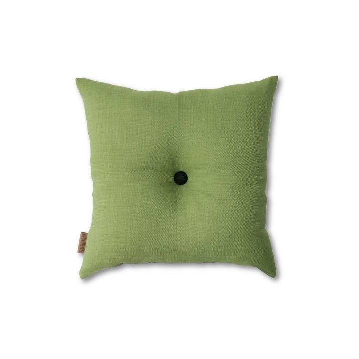 Grøn mini-pude med knap 1605