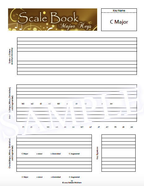 Kick-it-up-a-Notch Sample - Workbook Page