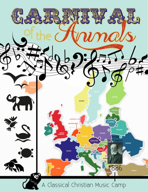 Carnival of the Animals: A Classical Christian Music Camp! COA