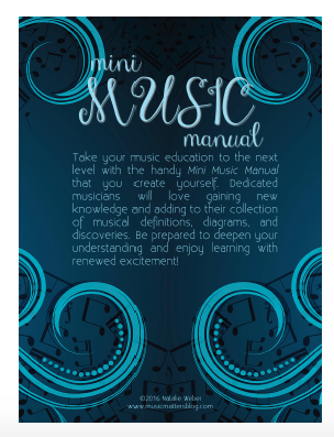 Mini Music Manual - Back Cover