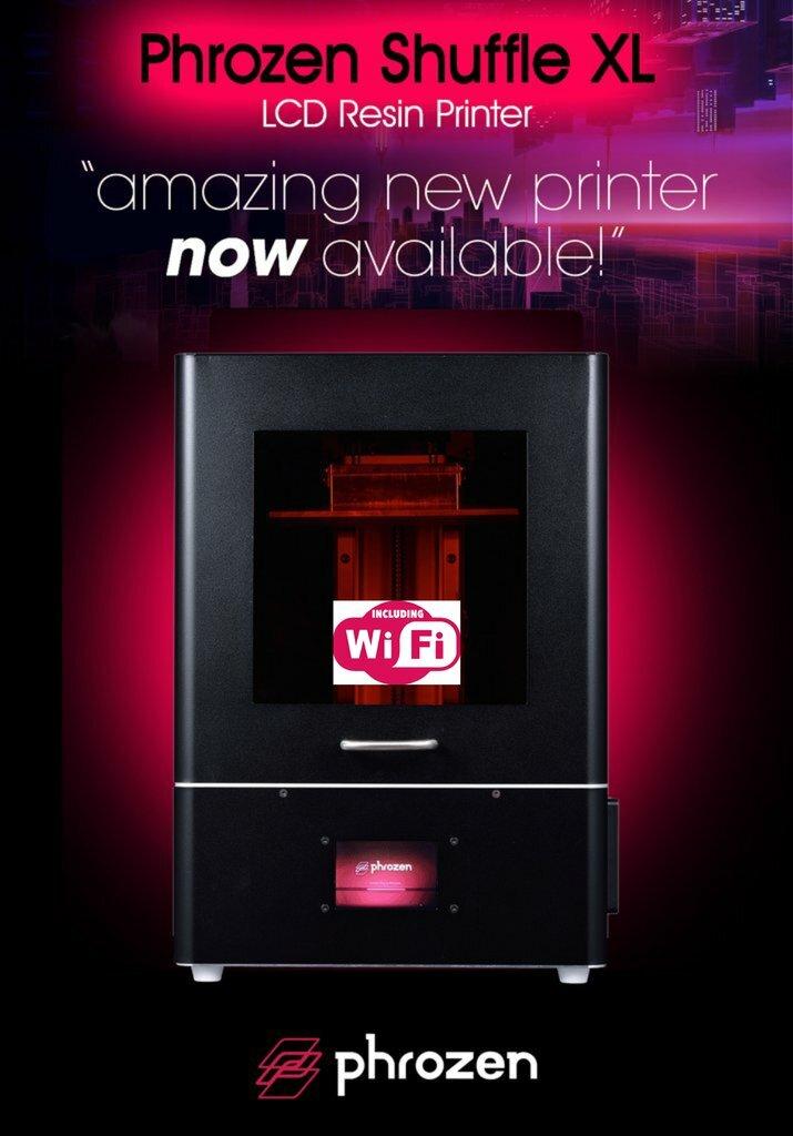 Phrozen Shuffle XL 3D Printer with WiFi phrozenshfflxl