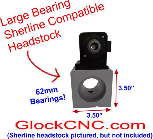 Sherline Taig Spindle Upgrade ER50 Collet Headstock