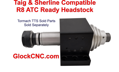 Sherline Taig R8 Spindle Upgrade Headstocks For Mills