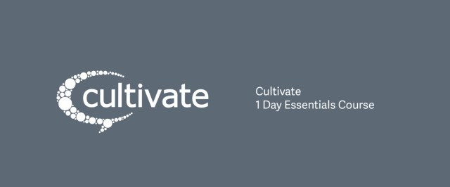 Cultivate Essentials (1 Day)