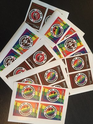 32 Mixed (4 Designs) Sticker Pack - A5 x 8 sheets