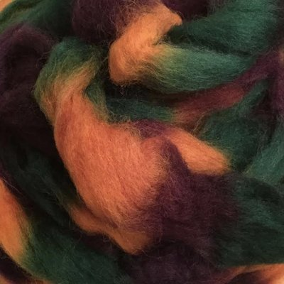 Space-Dyed Wool Roving
