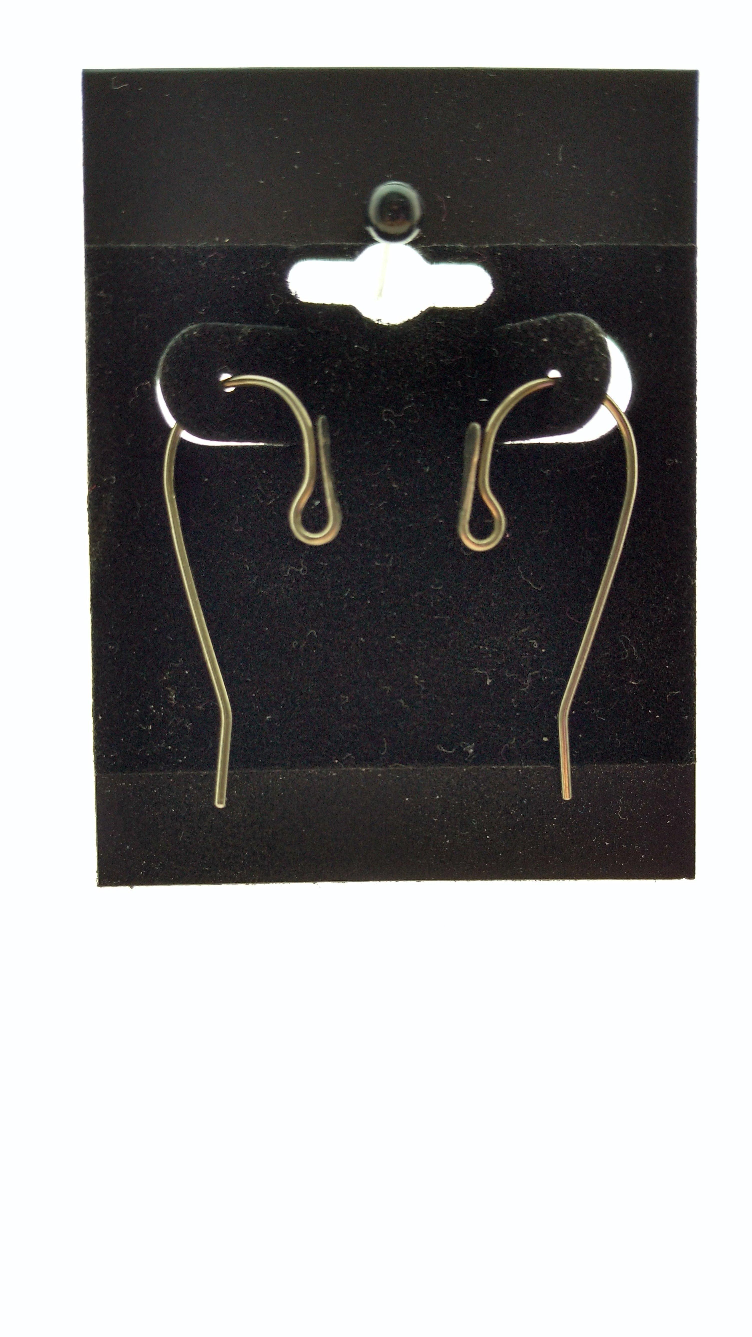 Hypoallergenic Interchangeable Shepherd Hook Earrings