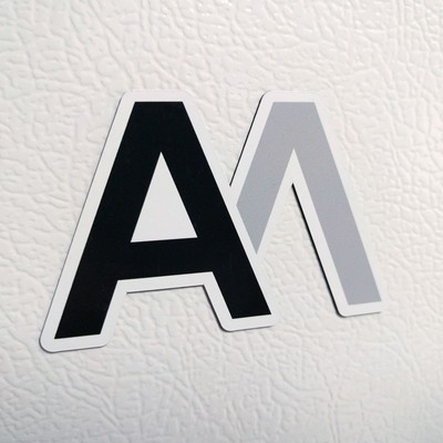 AM Logo Magnet