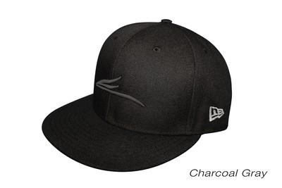 Eloh Projects Charcoal Gray on Black - Logo Cap
