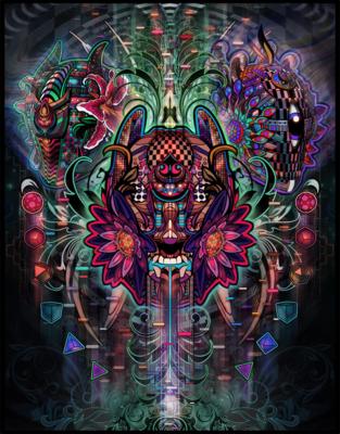 Anarcupid Limited Edition Canvas Prints