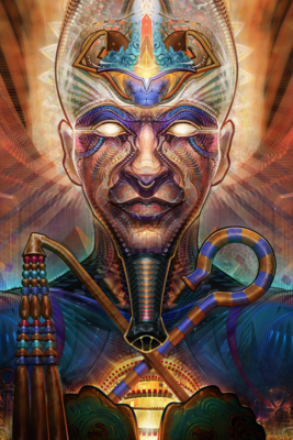 Osiris Risen Limited Edition Canvas Prints
