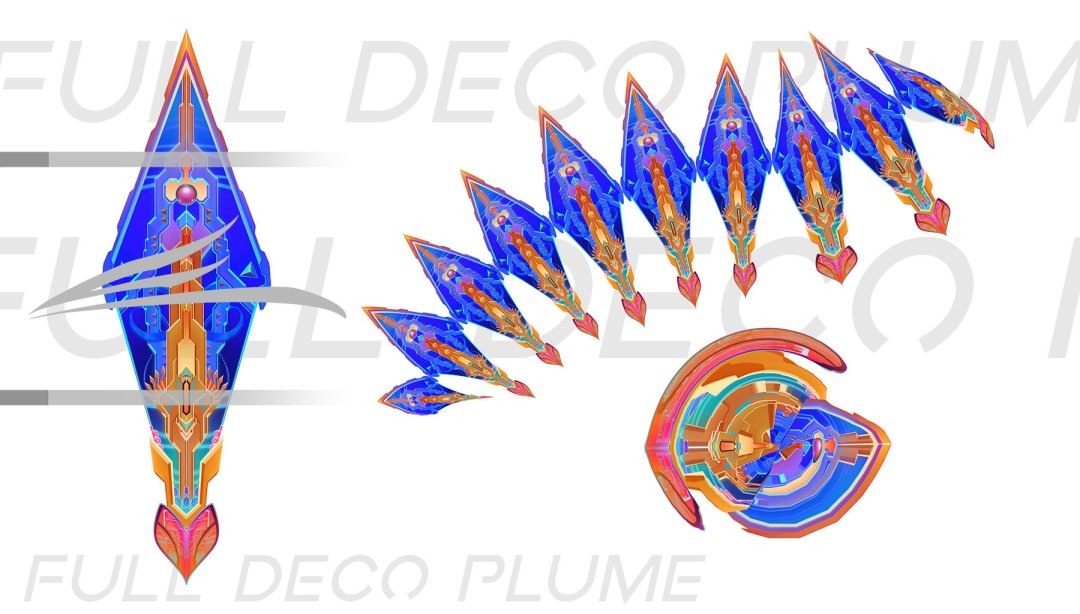 Full Deco Plume