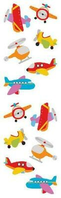 Planes & Spaceships Stickers