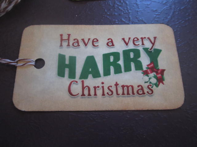 Wizarding Christmas Gift Tags  (10) elf1025