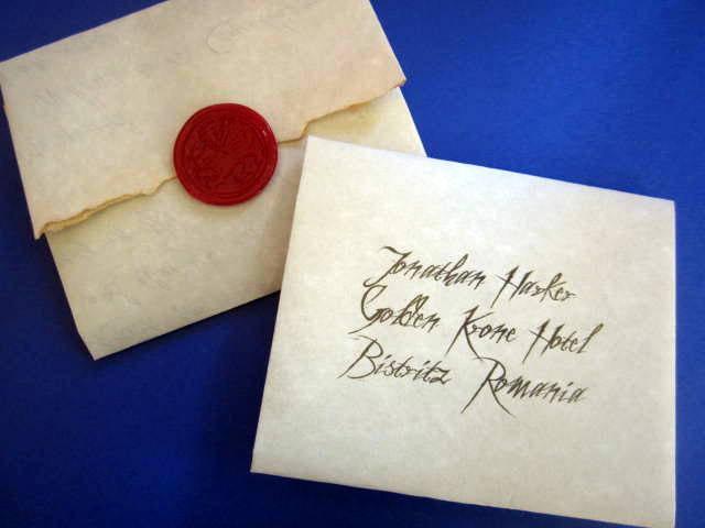 Dracula's Letter to Jonathan Harker elf1013