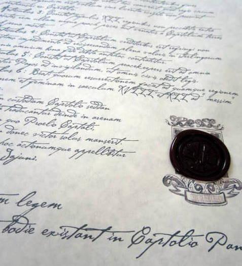 Starving Games Treaty of Treason Prop Replica elf1080