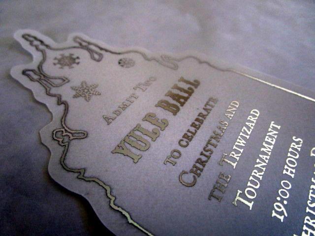 Wizarding Christmas Dance Ticket elf1101