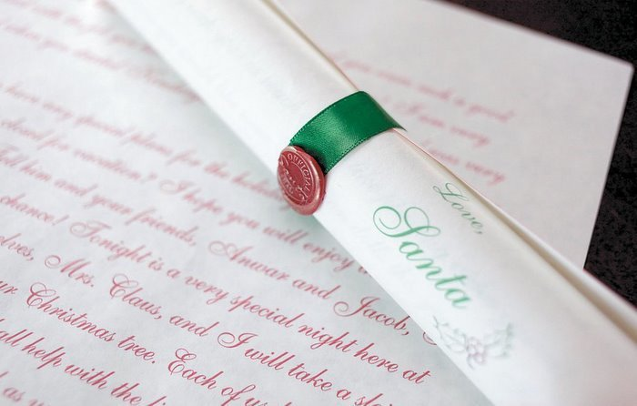 Deluxe Scroll from Santa Claus 00030