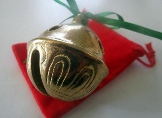 Polar Express Brass Sleigh Bell