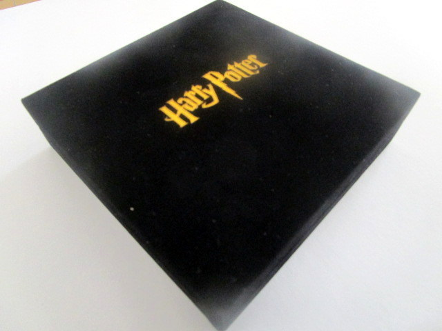 Wizarding coin set velvet case