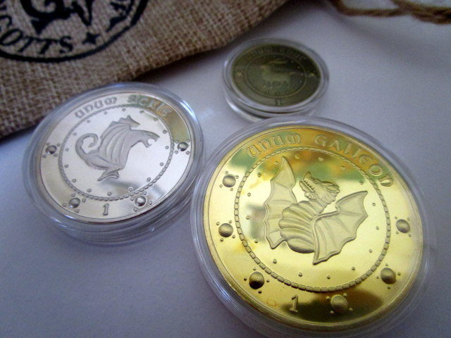 Wizarding Bank Coin Set 00043
