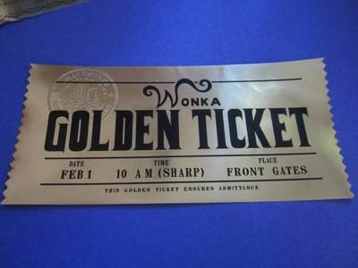 Modern Golden Ticket