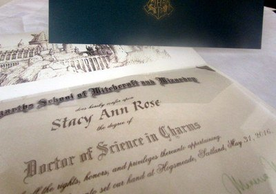 *Wizarding College Diploma