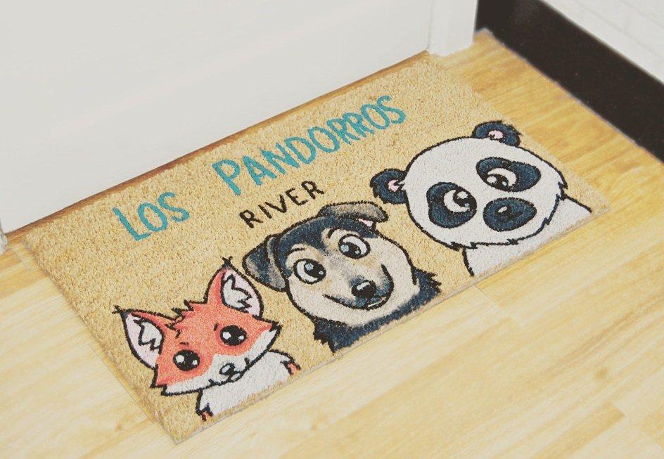 Zorro. mestizo y Panda