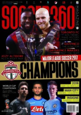 Soccer 360 Issue 73 - JAN/FEB 2018