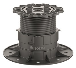 Eurotec Profi Line L -  Feet with Paving Slab Adaptors - 70mm - 117mm