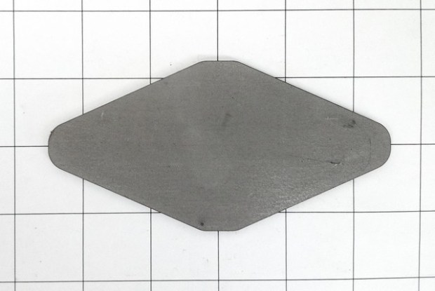 "Fishplate; 2-1/2"" x 5"" fishplate"