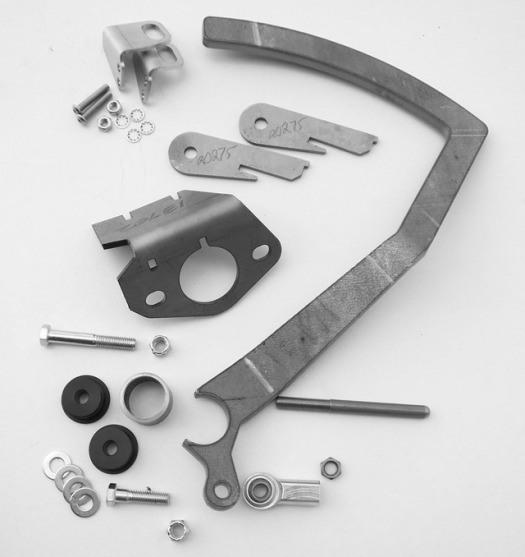 Brake Pedal/ Master Cylinder Bracket, Model A 13704