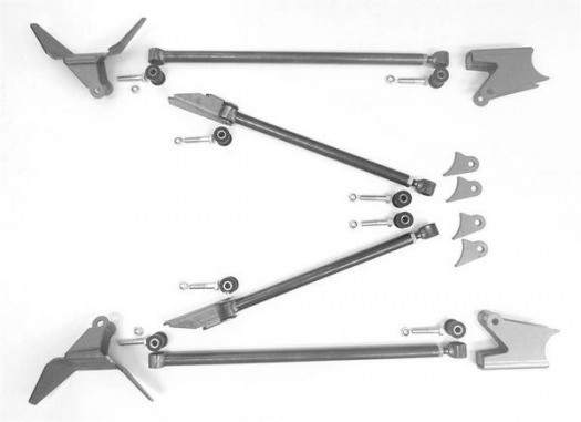 Triangulated Rear Four Link Package, for Air Springs