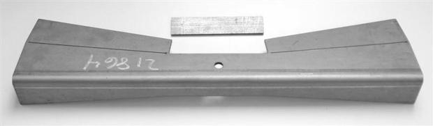 Flat Front Crossmember Main Plate Only 21865