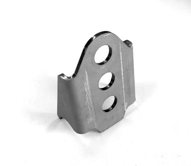 Sway bar mount for axle bracket 227033