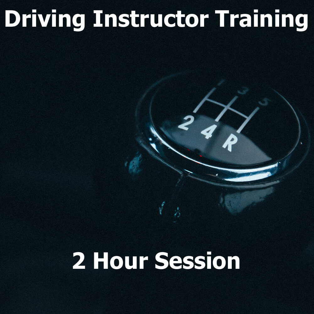 Driving Instructor Training Session (2 Hours)
