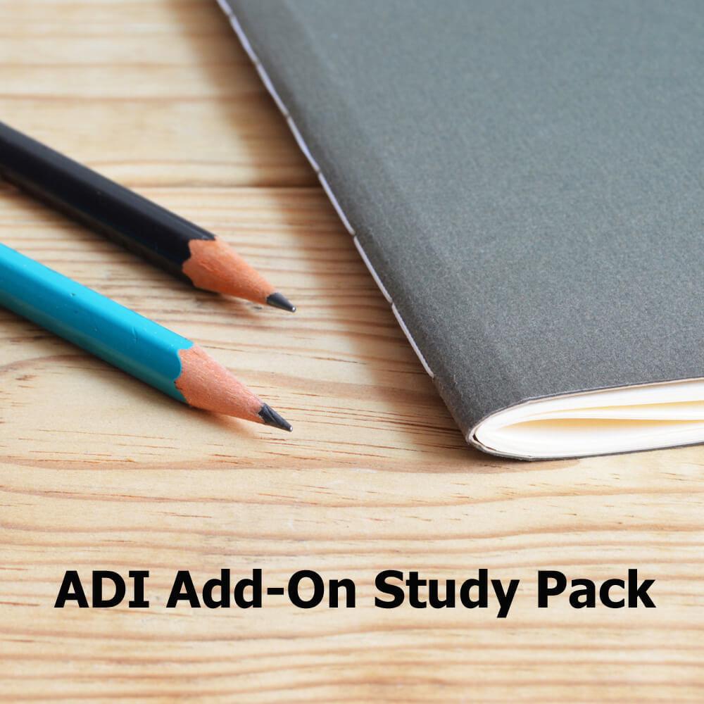 ADI Study Pack- Add-On 0000078