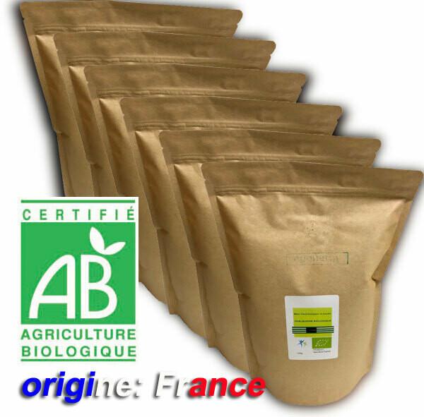 6 kg Code 0 Blanc d'oeuf bio poudre