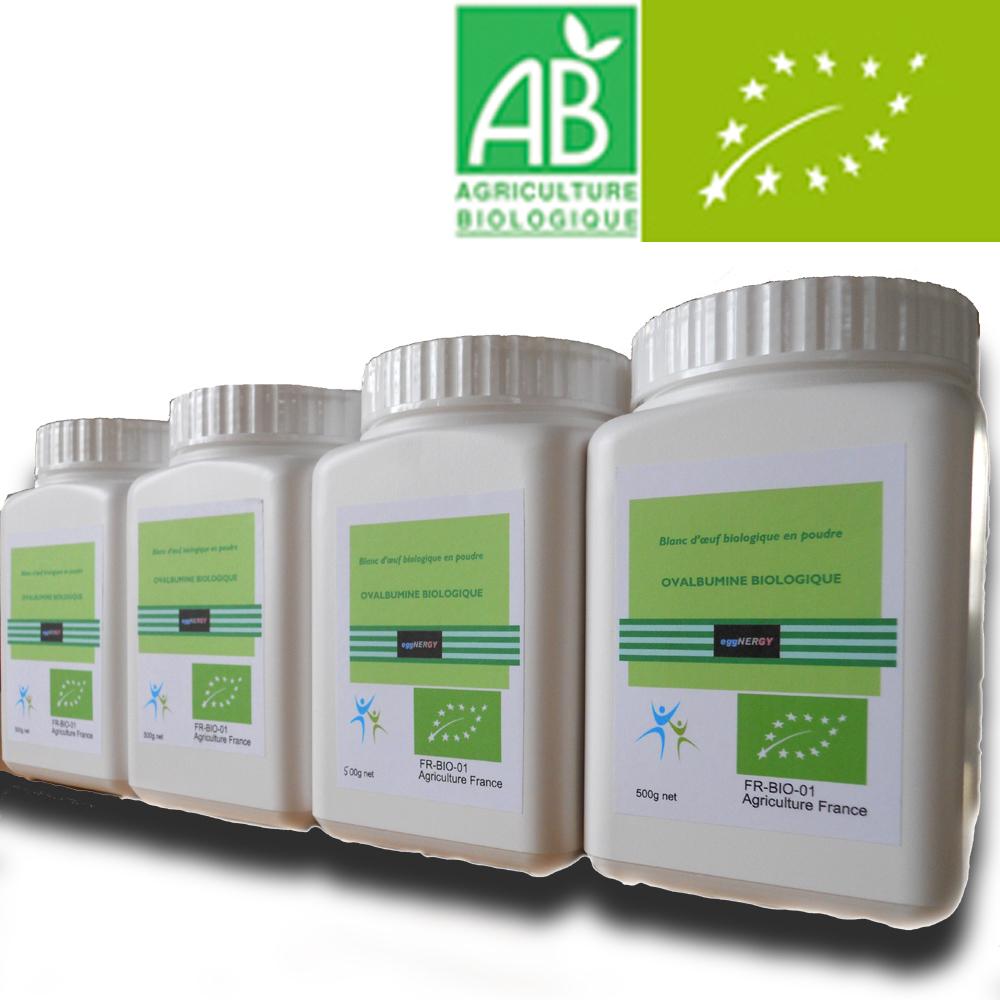 Bio Code 0 Blanc d'oeuf poudre: 4 x 500 g 00019
