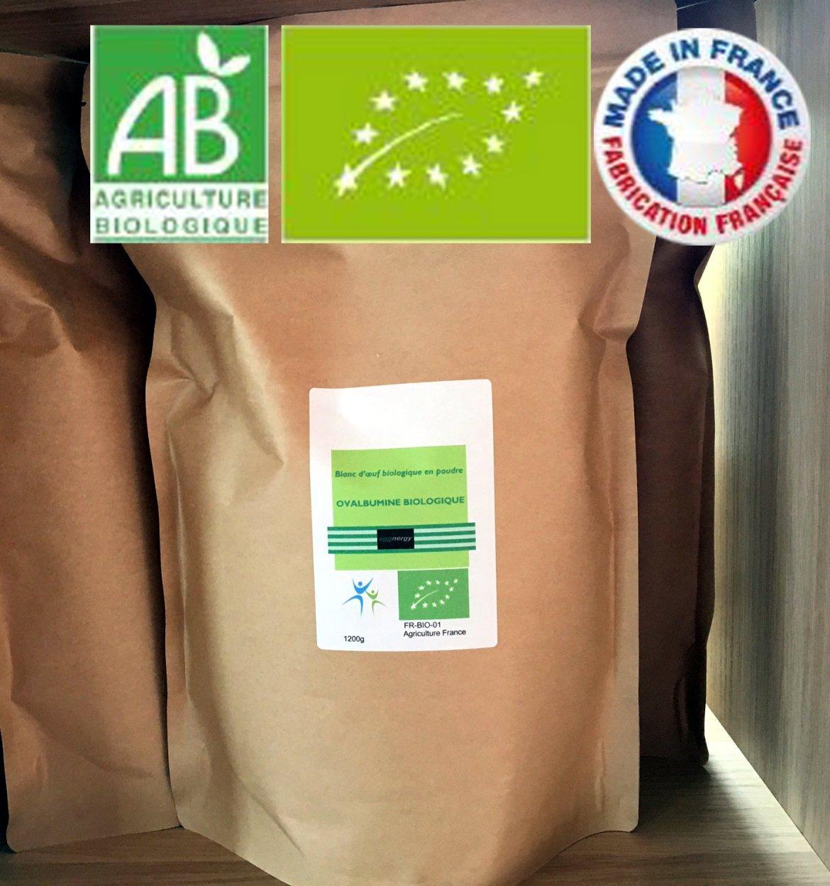 6 kg Code 0 Blanc d'oeuf bio poudre 00357