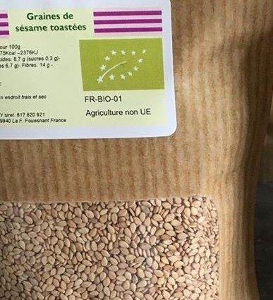 Graines de sésames toastées en 250 g