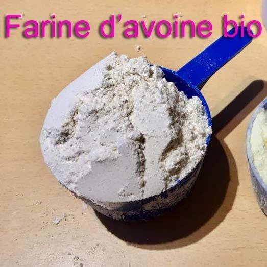 Farine d'avoine bio - 1 kg (11% de protéines) 00443