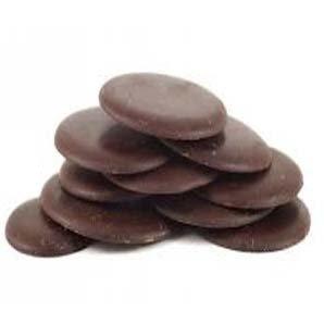 Grands boutons de chocolat 74% bio en 200 g 00446
