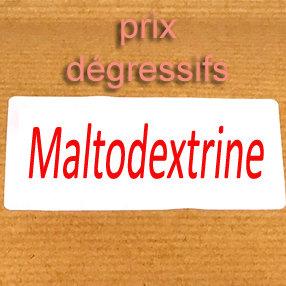 Maltodextrine biologique 3Kg (3 sachets) 00417