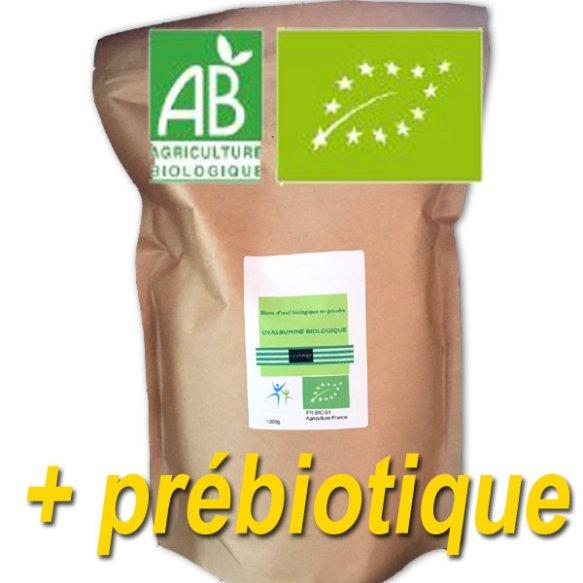 Eggprotéine + prébiotique