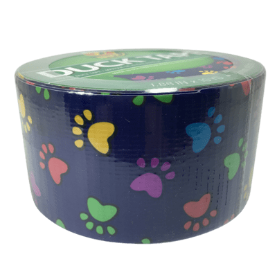 Duck Tape, Colourful Paws Duct Tape